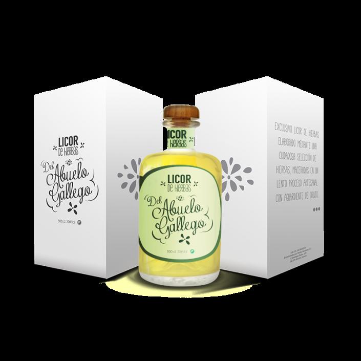 packaging del abuelo gallego