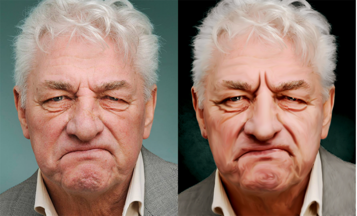 retoque anciano