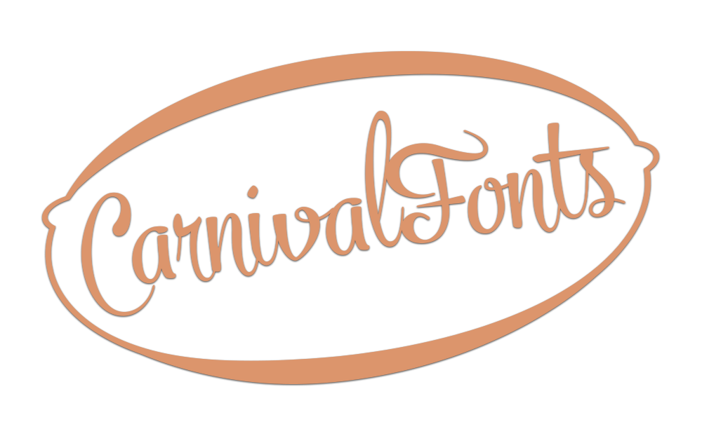 logo carnival fonts